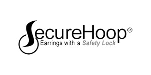 Secure Hoop - Secure Hoop earrings have a saftey lock. Secure Hoop earrings won't stick to sweaters, won't get lost while playing sports, o...