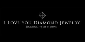 "I Love You Diamond Jewelry uses exclusively fine Russian Make diamonds, direct from the frozen plains of Siberia, and are laser engraved with a unique security number and the words ""I Love You""."