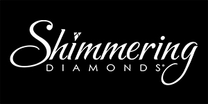 The Shimmering Diamonds® Collection is a dazzling presentation of sparkle and fire in motion. Suspended within a 14K gold or sterling silver setting, these diamonds move with every breath she takes. The collection is available in rings, pendants, earrings, and bracelets, with remount styles available.
