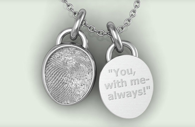 Fingerprint Jewelry - 01.jpg - brand name designer jewelry in Pasadena, Maryland