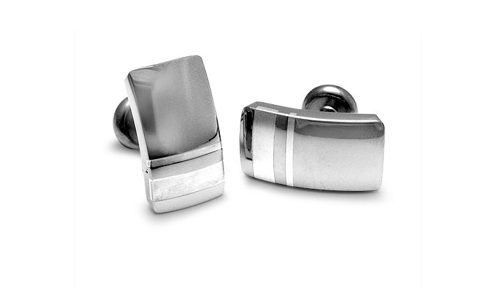 Edward Mirell - 141_edward-mirell_gray-titanium-and-sterling-silver-accessory_a362n-00000_l.jpg - brand name designer jewelry in Aliquippa, Pennsylvania