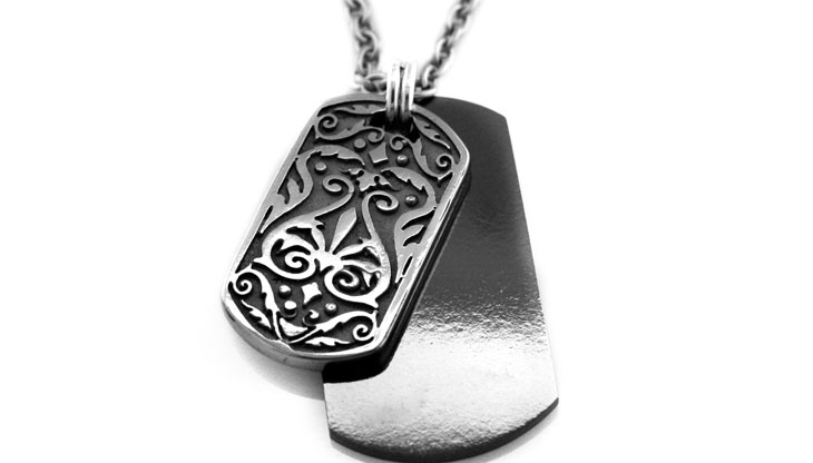 Edward Mirell - 252_edward-mirell_black-titanium-and-gray-titanium-necklace_n3152o-00000_l.jpg - brand name designer jewelry in Aliquippa, Pennsylvania
