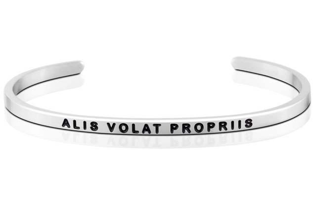 MantraBand - Alis_Volat_Propriis_bracelet.jpg - brand name designer jewelry in Sayville, New York