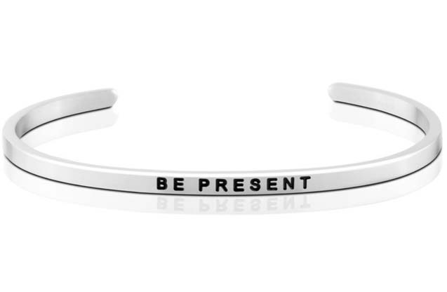 MantraBand - Be_Present_bracelet.jpg - brand name designer jewelry in Sayville, New York