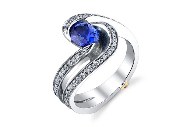 Mark Schneider - BrillianceSapph.jpg - brand name designer jewelry in Orange, Connecticut