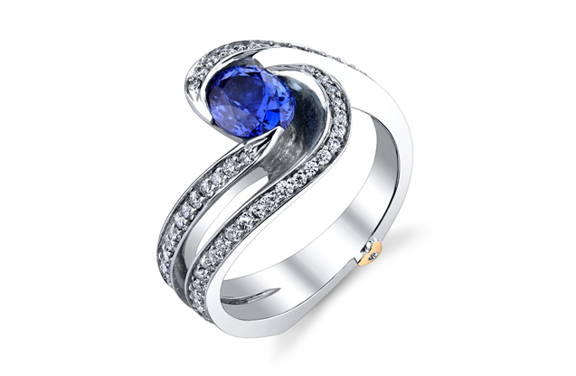 Mark Schneider - BrillianceSapph.jpg - brand name designer jewelry in Traverse City, Michigan