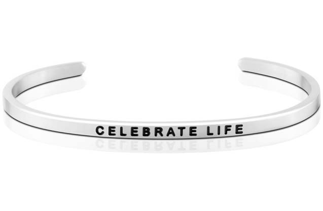 MantraBand - Celebrate_Life_bracelet.jpg - brand name designer jewelry in  Pittsburgh, Pennsylvania