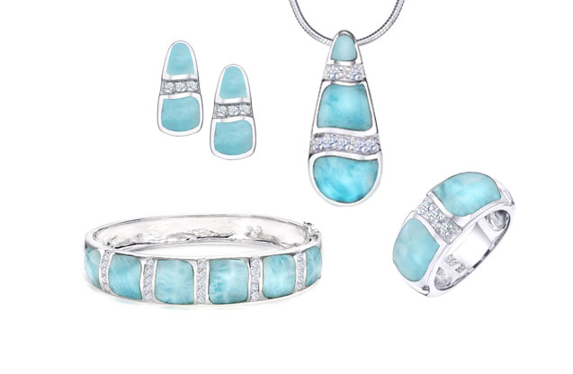 The Marahlago Larimar Collection Lauderdale By Sea Florida Brand Name Designer Jewelry At P J Rossi Jewelers