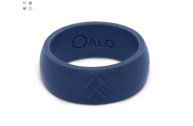 Qalo - Color_TrueBlue_Mens_Quality.jpg - brand name designer jewelry in Vincennes, Indiana