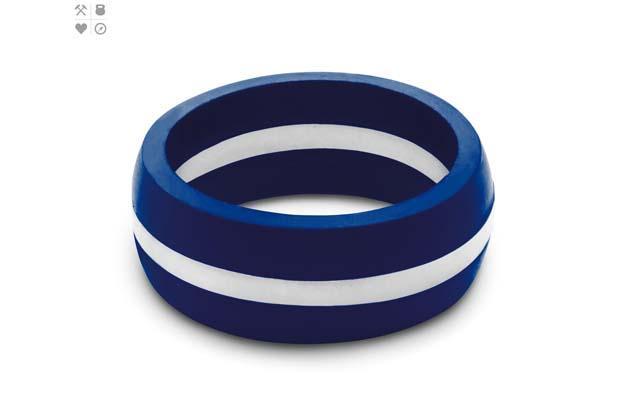 Qalo - Color_White_Mens_ThinLine.jpg - brand name designer jewelry in Placentia, California