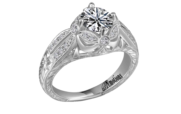 Diamond Emotions - ER9290.png - brand name designer jewelry in Gaylord, Michigan
