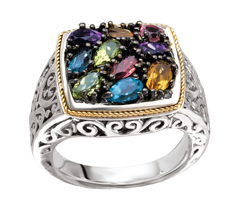 Eleganza - Eleganza_Ring_05.png - brand name designer jewelry in Bryant, Arkansas