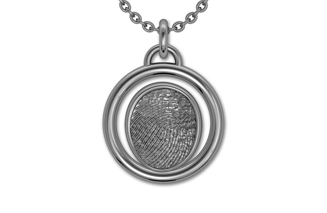 Fingerprint Jewelry - FI17CPS.jpg - brand name designer jewelry in Ellwood City, Pennsylvania