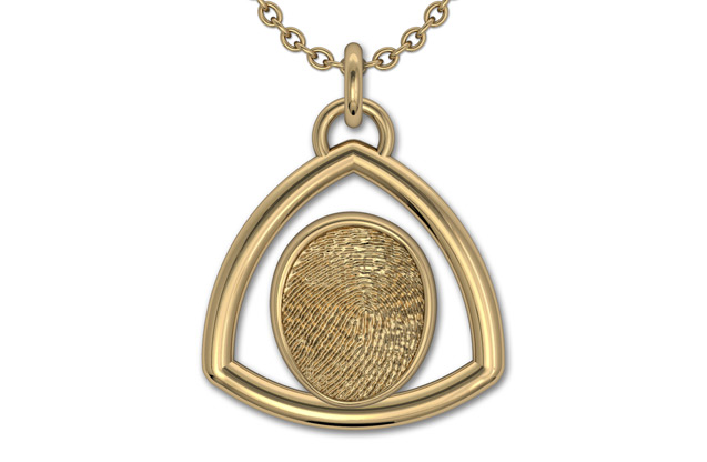 Fingerprint Jewelry - FI17TPY.jpg - brand name designer jewelry in Ellwood City, Pennsylvania