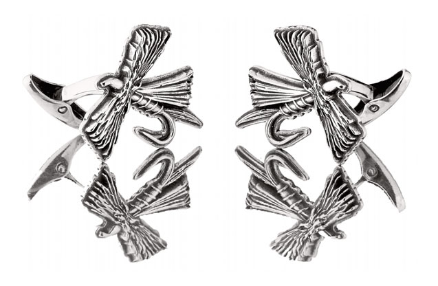 Grainger McKoy - FLYCL_Fly_Cufflinks.jpg - brand name designer jewelry in Sumter, South Carolina
