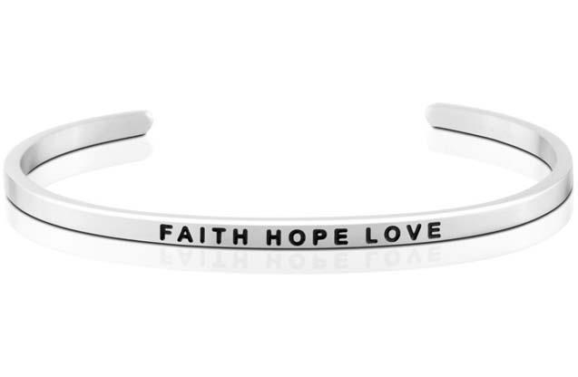 MantraBand - Faith_Hope_Love_bracelet.jpg - brand name designer jewelry in  Pittsburgh, Pennsylvania