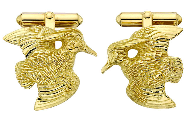 Grainger McKoy - GOLD_WOODDUCK_CUFFLINKS.jpg - brand name designer jewelry in Sumter, South Carolina