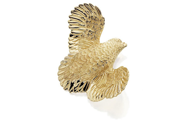 Grainger McKoy - Gold-Quail.jpg - brand name designer jewelry in Sumter, South Carolina