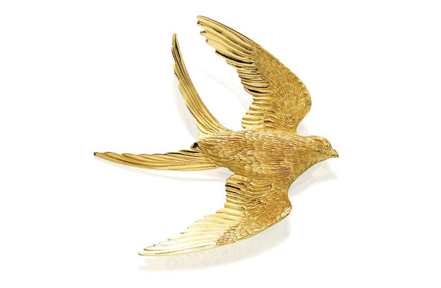 Grainger McKoy - Gold_Swallowtailed_Kite.jpg - brand name designer jewelry in Sumter, South Carolina