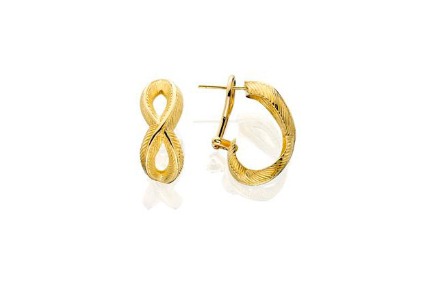 Grainger McKoy - Gold_Woven_Feather_Earring_-.jpg - brand name designer jewelry in Sumter, South Carolina