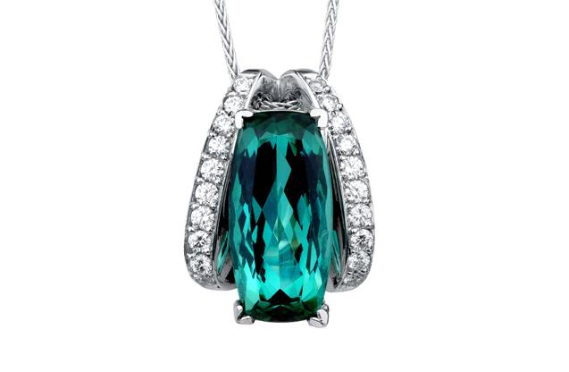 Mark Schneider - Green-Tourmaline-Pendant---98365.jpg - brand name designer jewelry in Orange, Connecticut