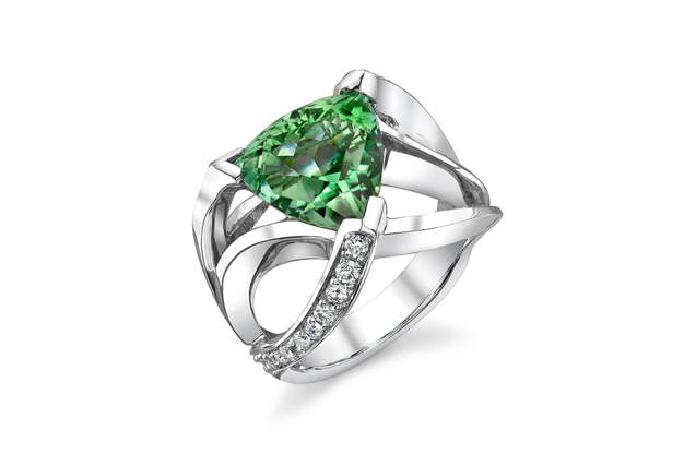 Mark Schneider - Green-Tourmaline-Ring---1560500001.jpg - brand name designer jewelry in Traverse City, Michigan