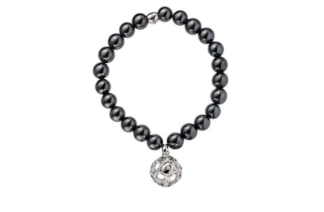 Hot Diamonds - HotDiamonds_Black_Bracelet.jpg - brand name designer jewelry in Faribault, Minnesota