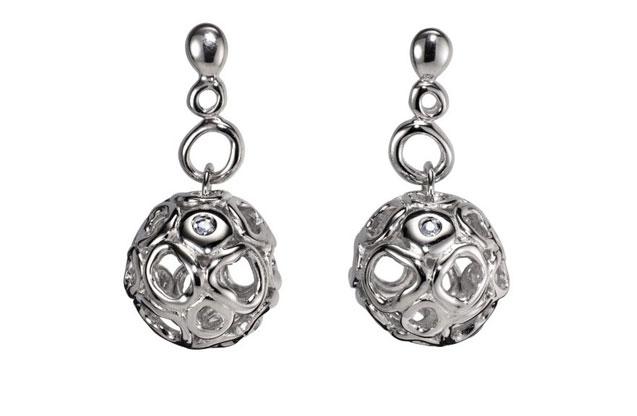 Hot Diamonds - HotDiamonds_Black_Earrings.jpg - brand name designer jewelry in Bristol, Connecticut