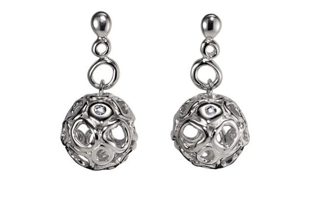 Hot Diamonds - HotDiamonds_Black_Earrings.jpg - brand name designer jewelry in Faribault, Minnesota