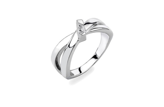 Hot Diamonds - HotDiamonds_Cascade_Ring2.jpg - brand name designer jewelry in Westwood, Massachusetts