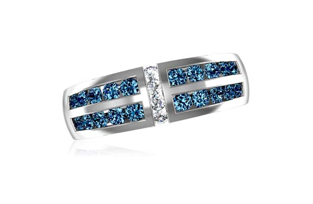 DeLeo - R8637-BLUE.jpg - brand name designer jewelry in Missoula, Montana