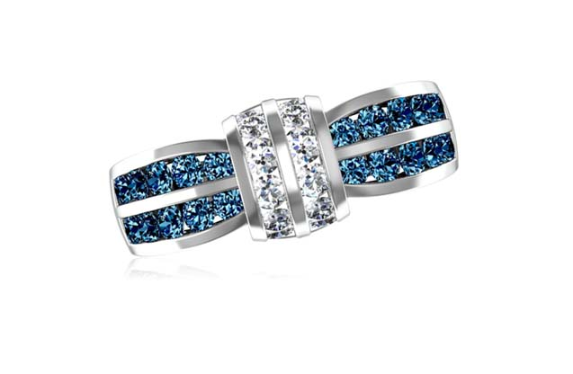 DeLeo - R8692-blue.jpg - brand name designer jewelry in Missoula, Montana