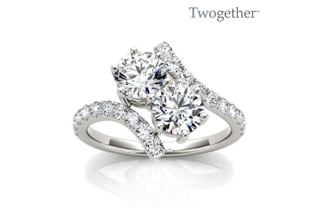 Twogether - TWO3001-25_wg_1.jpg - brand name designer jewelry in Vincennes, Indiana