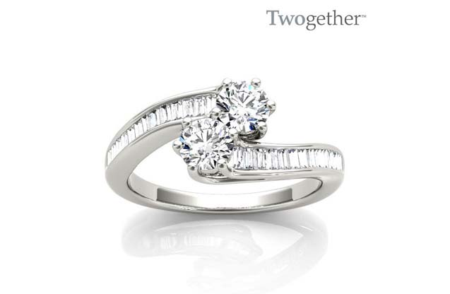 Twogether - TWO3006-50_wg_1.jpg - brand name designer jewelry in Vincennes, Indiana
