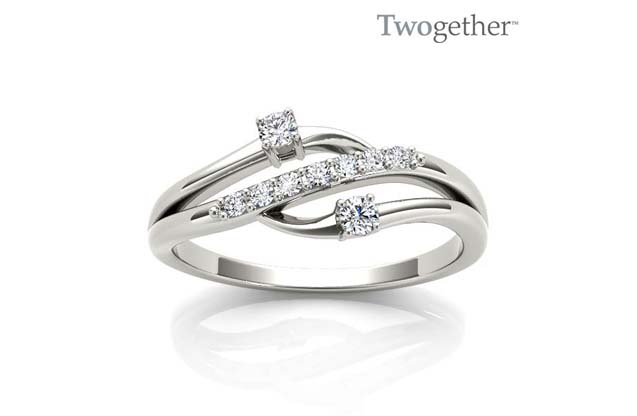 Twogether - TWO3011_wg_1.jpg - brand name designer jewelry in Tyler, Texas