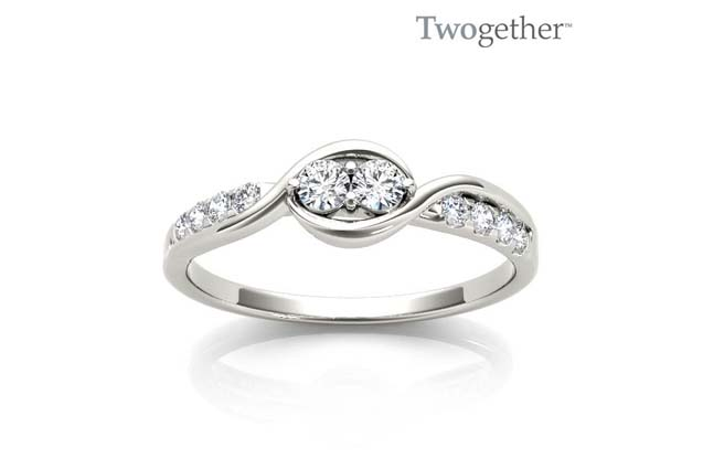 Twogether - TWO3012_wg_1.jpg - brand name designer jewelry in Tyler, Texas