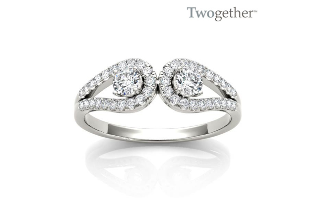 Twogether - TWO3013_wg_1.jpg - brand name designer jewelry in Tyler, Texas