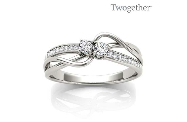 Twogether - TWO3014_wg_1.jpg - brand name designer jewelry in Tyler, Texas