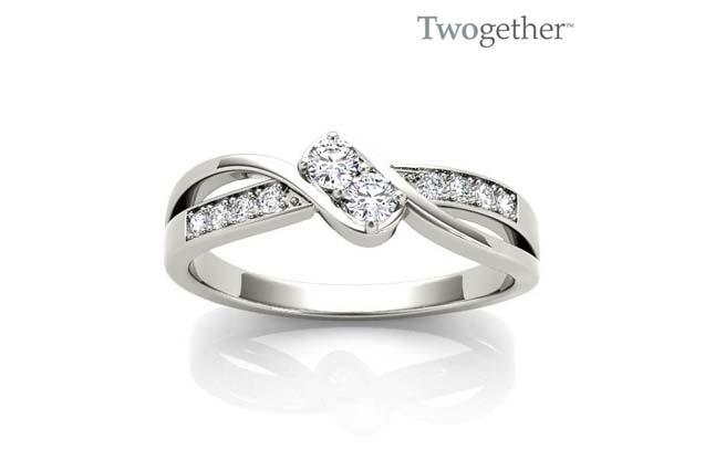 Twogether - TWO3015_wg_1.jpg - brand name designer jewelry in Vincennes, Indiana