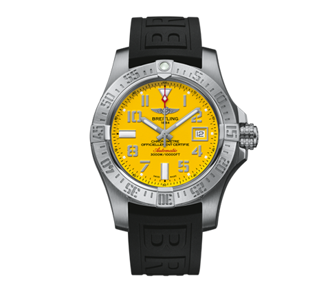 Breitling - avenger_ii_seawolf_212.png - brand name designer jewelry in Seattle, Washington