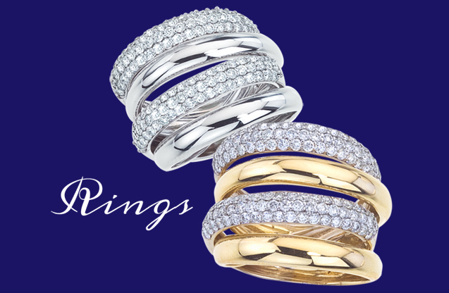D.A. Gold - da-gold-rings.jpg - brand name designer jewelry in Sumter, South Carolina