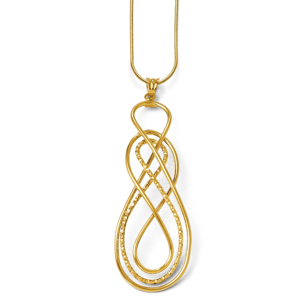 Quality Gold - leslies-gold-pendant-LF195.jpg - brand name designer jewelry in Lewisburg, West Virginia