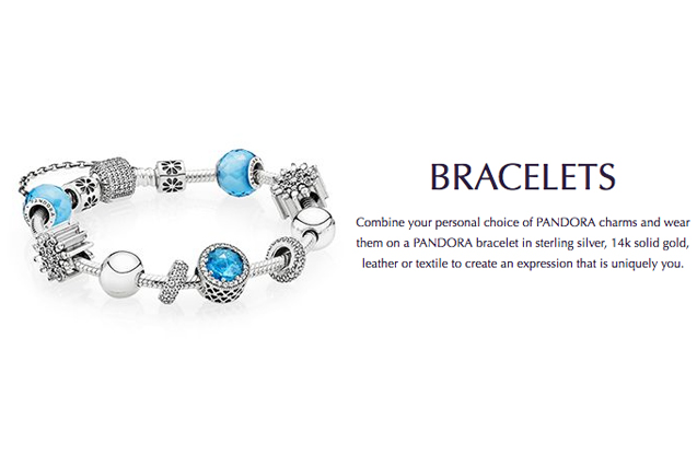 Pandora - pandora-bracelets.jpg - brand name designer jewelry in White Oak, Pennsylvania