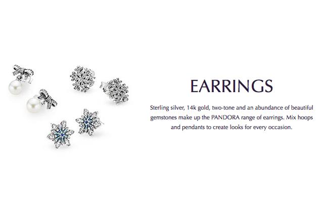 new pandora earrings