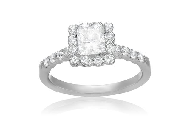 Roman + Jules - roman_and_jules_Princess_Cut_Engagement_Ring.jpg - brand name designer jewelry in Dallas, Pennsylvania