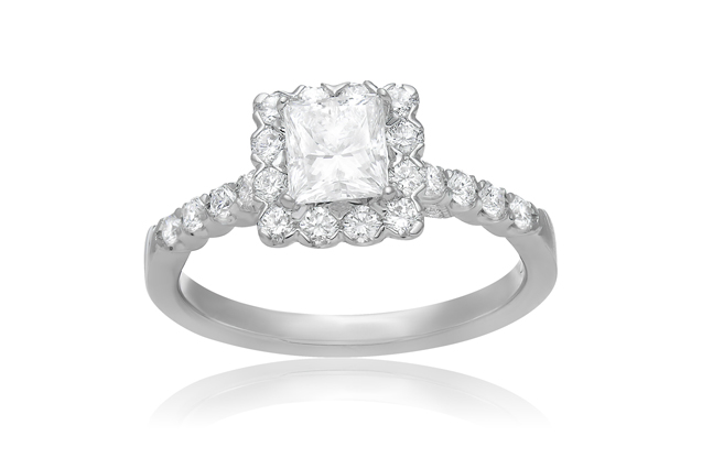 Roman + Jules - roman_and_jules_Princess_Cut_Engagement_Ring.jpg - brand name designer jewelry in Lauderdale-By-The-Sea, Florida