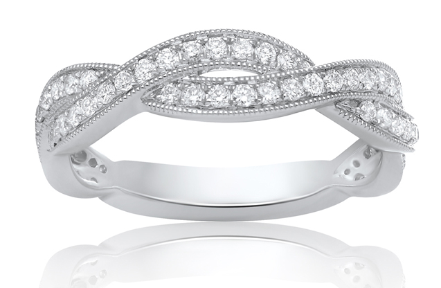 Roman + Jules - roman_and_jules_Swirl_Wedding_Band.jpg - brand name designer jewelry in Brenham, Texas