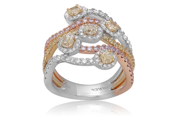 Roman + Jules - roman_and_jules_Tricolored_Fashion_Ring.jpg - brand name designer jewelry in Lauderdale-By-The-Sea, Florida