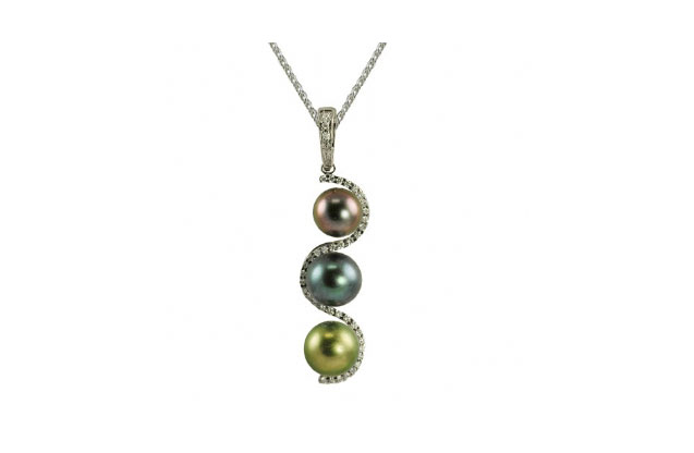 Imperial Pearls - tahitian-multi-pendant-CSWEN001B18.jpg - brand name designer jewelry in Dallas, Pennsylvania