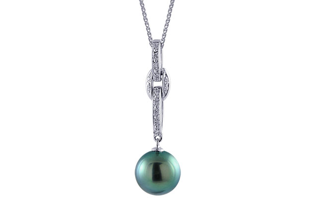 Imperial Pearls - tahitian-pendant-988840BWH18.jpg - brand name designer jewelry in Bad Axe, Michigan